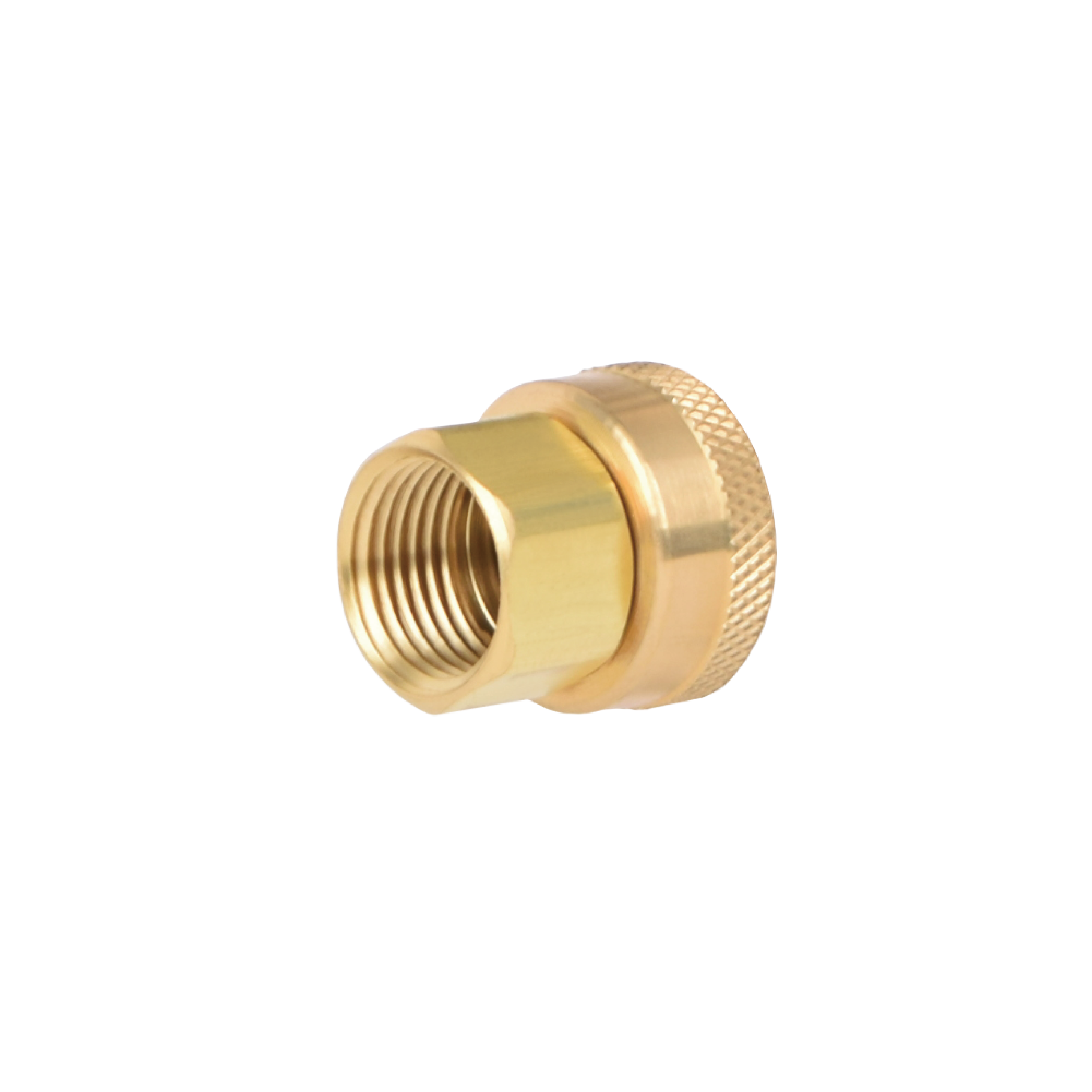 HOSE ADAPTER SWIVEL 3/4FH - 1/2FP